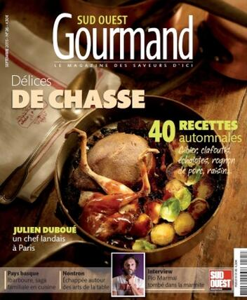 Magazine Sud Ouest Gourmand